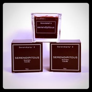 Serendipitous Chocolate Full-size Candle x 2